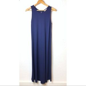 Eileen Fisher Dark Blue Sleeveless Dress